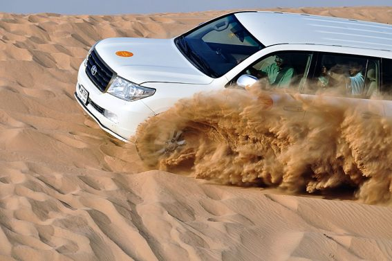 Red Dune Bashing Thrilling Tour in Dubai