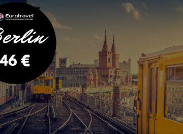Oferta Bilete de Avion – Berlin de la 46 euro | Rezervi simplu si rapid